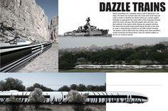 Résultats Google Recherche d'images correspondant à http://www.henrygrosman.com/site/images/stories/graphics/dTrains/lasr_dazzle_trains-1024x682.jpg