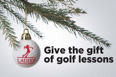 Only 12 days until Christmas! Call 905.889.3531 or email academy@ladiesgolfclub.com