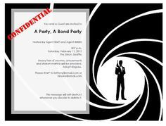 Personalized james bond 007 theme party invitations this is 1b2f2869d80248cf8899bace7fbb442cg 236179 james bond stopboris Images