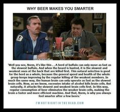 Why Beer Makes You Smarter