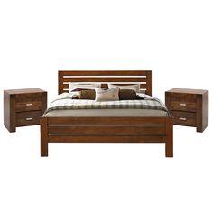 CALI II BED & 2 X CALI PEDESTAL Pedestal, Mattress, Online Furniture, Furniture Store, Bed, Furniture, Online Furniture Stores, Home Decor, Room