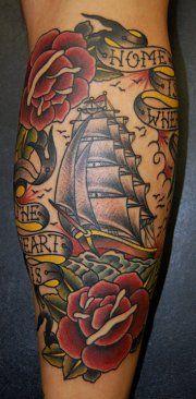 Old school ship by Jelle