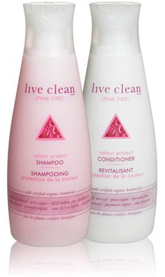 pink fire - colour protect shampoo & conditioner