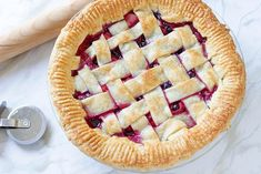 Triple Berry Pie Recipe DIY Projects Craft Ideas & How To's for Home Decor with Videos Pie Recipes, Dessert Recipes, Triple Berry Pie, How To Make Everything, Great Desserts, Pie Dessert, Creative, Berries, Diy Projects