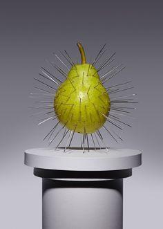 Conceptual set designer Kyle Bean and photographer Aaron Tilley - 'Forbidden Fruits' for The Gourmand food magazine