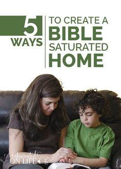 Do you have Biblical Routines that you practice at home? If you're still planning on how to create a Scripture-saturated home, here are 5 biblical routines for the Christian home that you can use.