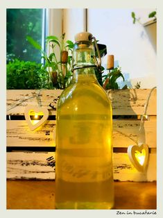 White Wine, Pickles, Zen, Diy And Crafts, Alcoholic Drinks, Good Food, Homemade, Bottle, Cooking