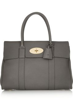 0093435e7a3d Mulberry - The Bayswater textured-leather bag