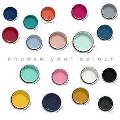 Rectangle - Choose your colour to suit your room. – COLOUR POP
