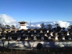 Dochu La Pass in ཐིམ་ཕུུུུ, Thimphu Dzongkhag