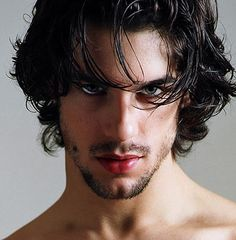Guy With Black Hair And Green Eyes Photo Mens Hairstyles Black Hair Green Eyes, Guys With Black Hair, Black Hair Boy, Gray Eyes, Long Black Hair, Green Hair, Blue Hair, Dark Hair, Blue Eyes