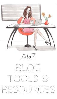 A to Z of blogging tools & resources from The Blog Stylist  #bbloggers #fbloggers #lbloggers