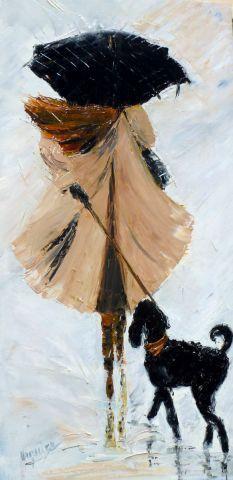 Chantal Urquiza - La Miss y su perro