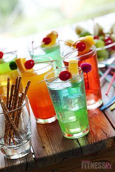 Skinny summer drinks