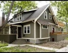 Craftsman Exterior Paint Color Schemes | Houzz is the new way to design your home.