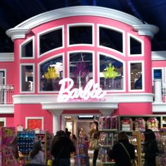 I would love to go to the Barbie section of the Times Square ToysRUs