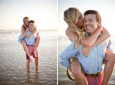 beach engagement session | Paige Elizabeth
