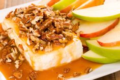 Caramel-Apple Cream Cheese Spread Is The Fastest Fall Party Treat Ever  - CountryLiving.com