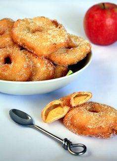 Beignets aux pommes et cannelle