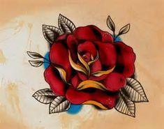 Vintage rose tattoos tumblr