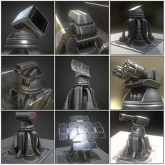 Futuristic Tower Set 3D Model .max .c4d .obj .3ds .fbx .lwo .stl @3DExport.com by DennisH2010 @3