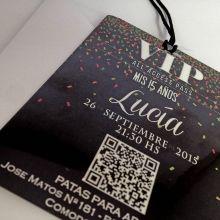 24 Mejores Imágenes De Invitaciones Vip 15 Años