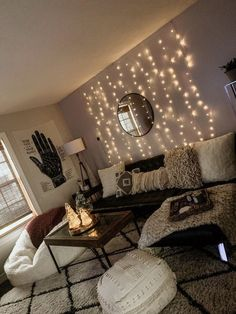 33 Wonderful Diy First Apartment Decorating Ideas. If you are looking for Diy First Apartment Decorating Ideas, You come to the right place. Here are the Diy First Apartment Decorating Ideas. Small Apartment Living, 1st Apartment, Living Room Decor Ideas Apartment, Living Room Decor On A Budget, Cute Apartment Decor, Cozy Living Rooms, Apartment Lighting, Cool Living Room Ideas, House Ideas On A Budget