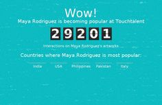 """Maya Rodriguez"" #Creative #Art @Touchtalent"