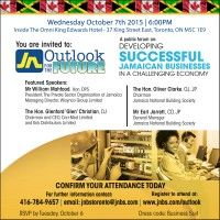 "JNBS sponsored ""Outlook for the Future"" forum"