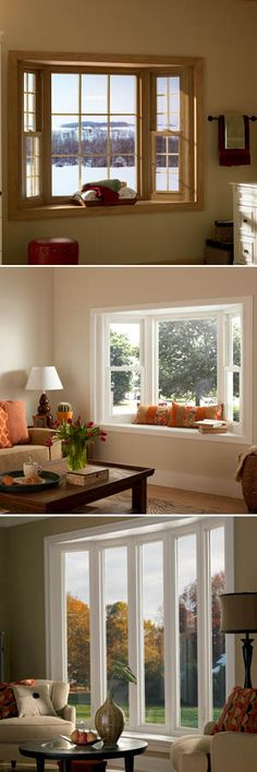 Some people may think bay windows are too traditional or outdated, but we can't help but love them. Not only do bay windows create a beautiful look for the exterior of your home, they have many other benefits as well.