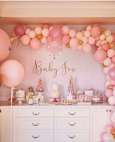 Stunning baby shower for @thetiafox styling by @ohferi_eventstyling cookies and desserts by @cookiesandcrumbsmelbourne tower by…