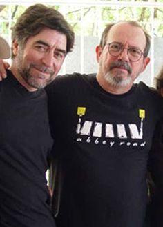 Cantantes  Trobadores Poetas  Silvio Rodriguez Joaquin Sabina Latin Music, Music Love, Celebs, My Love, Mens Tops, T Shirt, Latina, Deco, Fashion