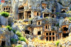 Antalya, Turkey #antalya #turkey #cliffs #architecture #history #culture