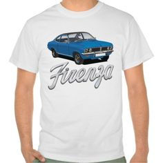 Shop Vauxhall Firenza orange, black roof with text T-Shirt created by knappidesign. Personalise it with photos & text or purchase as is! Tee Shirts, Tees, Automobile, Shirt Designs, Classic, Car, Mens Tops, Blue, Shopping