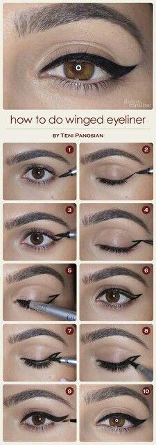 Tutoriel maquillage pour les yeux!