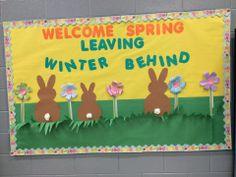 Spring, leaving winder behind, bunny, flowers
