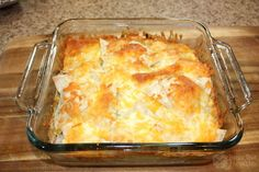 Chicken Enchilada Casserole - quick, easy weeknight dinner. Gluten free, with dairy free options