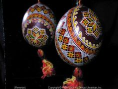 Ukrainian Easter Egg Pysanky 03-197  from the Lviv Region on AllThingsUkrainian.com