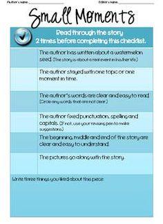 editing checklists