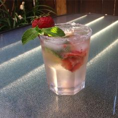 """Strawberry Mojito I """"OMG!! These were wonderful! I made them for a party and had to keep making pitchers of them because they were such a hit."""""""