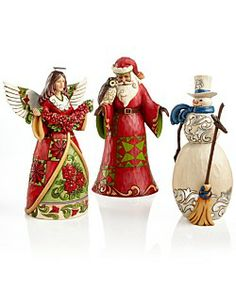 Jim Shore Collectible Figurines, Christmas Collection