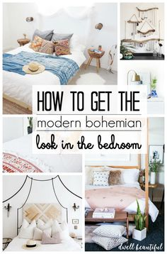 Modern Bohemian Bedroom Inspiration - Get design tips and tricks for bringing th. - Modern Bohemian Bedroom Inspiration – Get design tips and tricks for bringing the modern boho sty - Bohemian Bedroom Inspiration, Home Decor Bedroom, Modern Bedroom, Bedroom Inspirations, Bedroom Design, Modern Bohemian Bedroom, Diy Bedroom Decor, Home Decor, Home Decor Tips