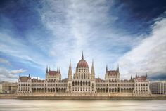 desktop wallpaper for hungarian parliament building Monuments, European River Cruises, France Europe, Budapest Hungary, The Good Place, Places To Go, Clouds, Architecture, City