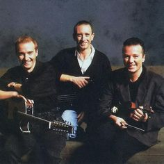 Midge Ure, Chris Cross and Billy Currie.