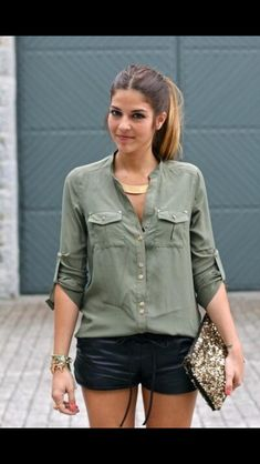 Image result for chic olive shorts