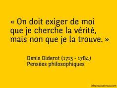 Denis Diderot, écrivain français des Lumières, est né il y a 300 ans, le 5 octobre 1713.