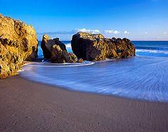 Leo Carrillo State Beach in Malibu,CA.  Campground and beach...beautiful.