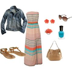 Summertime, created by mrscosentino on Polyvore