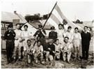 Members of the soccer team of the Kaunas branch of Betar, 1930s. (Jabotinsky Institute, courtesy of United States Holocaust Memorial Museum Photo Archives)