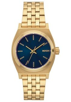 Nixon Medium Time Teller All Light Gold Cobalt